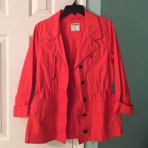 Coral Trench Jacket